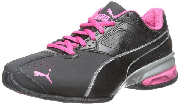 puma leather trainers ladies