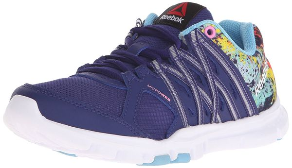 0fdf42e66064 REEBOK YOURFLEX TRAINETTE 8.0L MT Night Beacon - Blue Splash - Icono Pink -  White