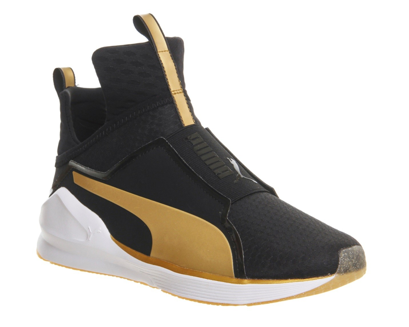Puma Fierce Core Black and Gold
