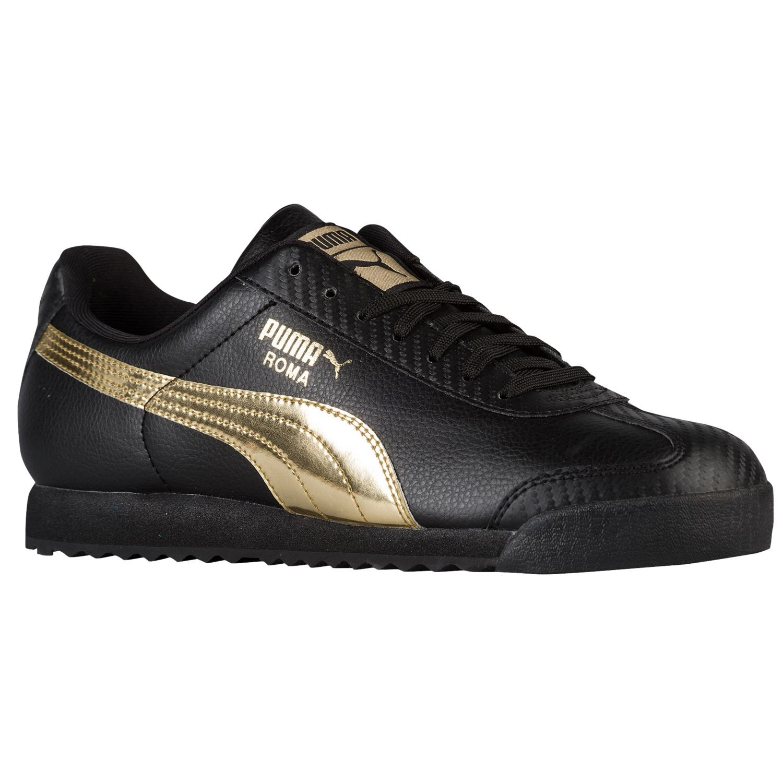 Puma Roma Black and Gold