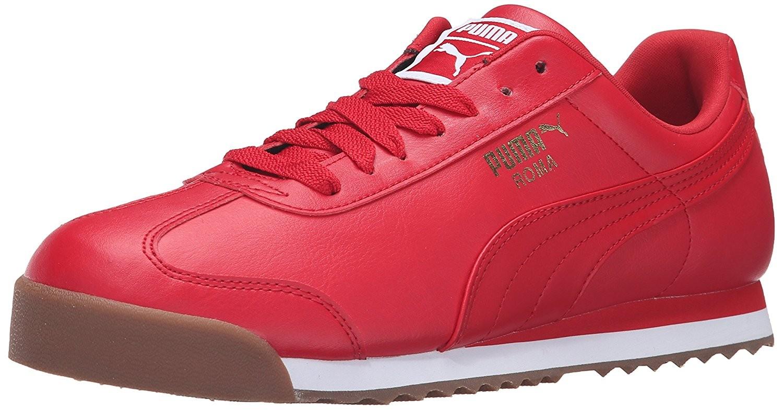 Hommes Pumas Roma Rouge Fr6Kt7Z0c