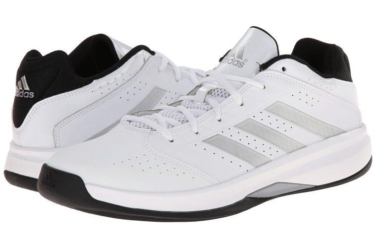 adidas mens isolation 2 low white