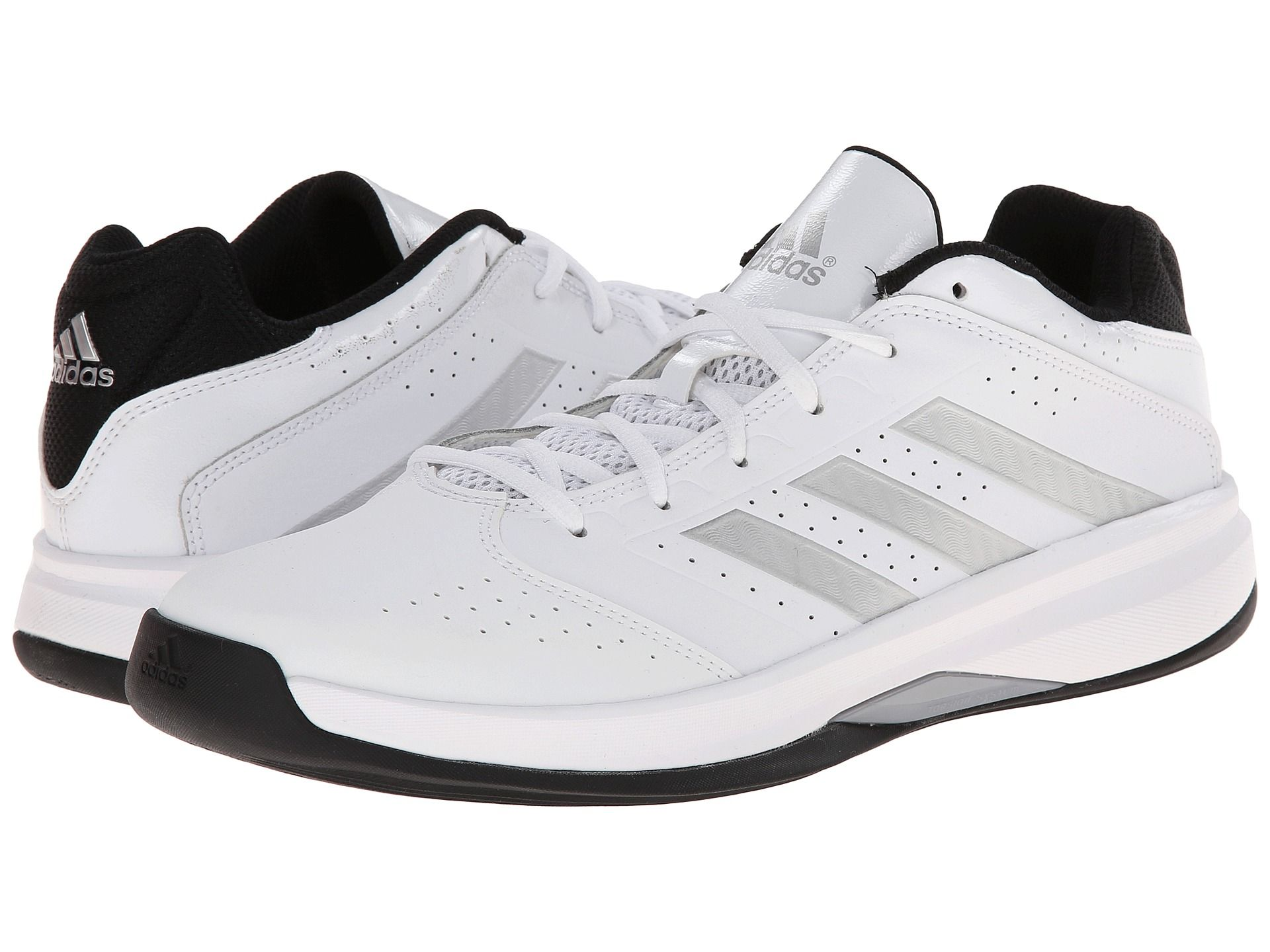 adidas mens isolation 2 low white