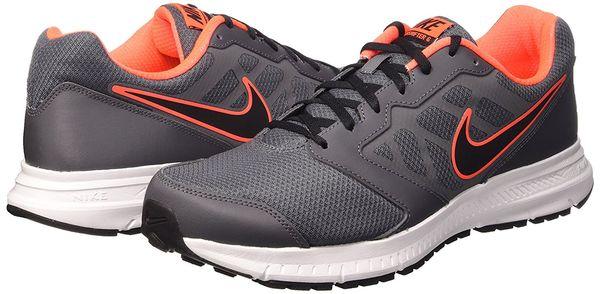 Nike Downshifter 6 Grey and Orange