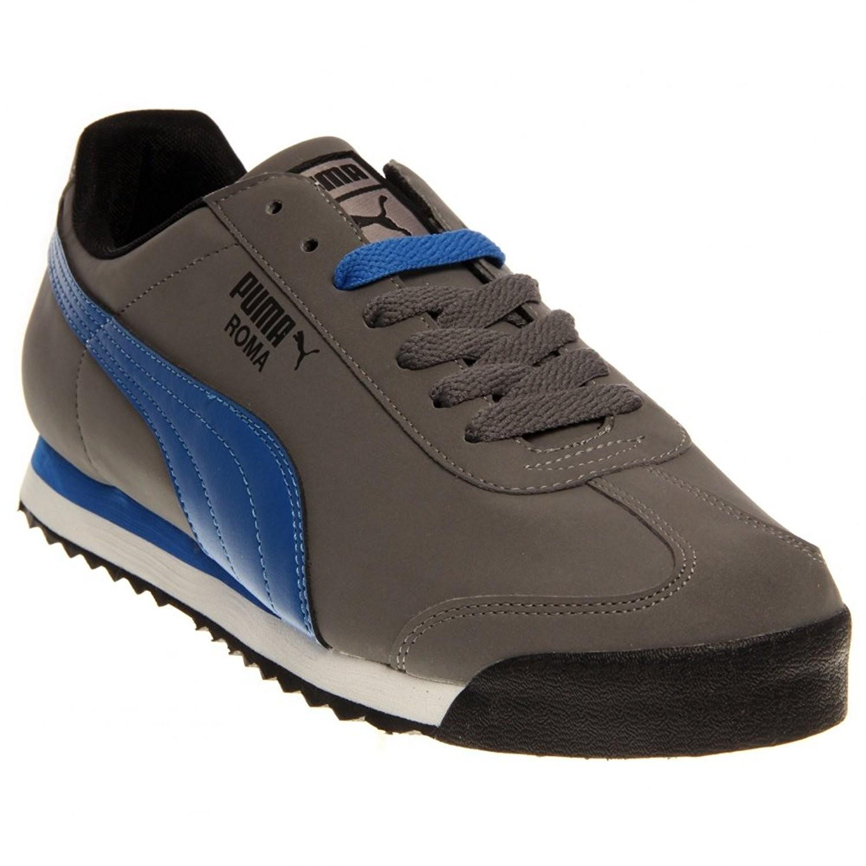 Puma Roma Grey and Blue