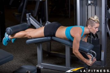how to do a lying leg curl at la fitness