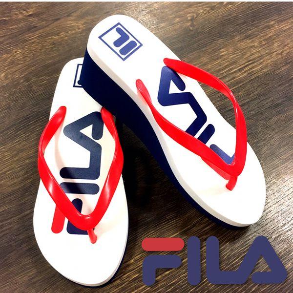Fila platform flip flops