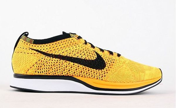 Nike Flyknit Racer Yellow-Black