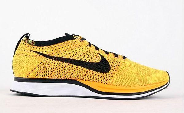 Nike Flyknit Racer Yellow-Black