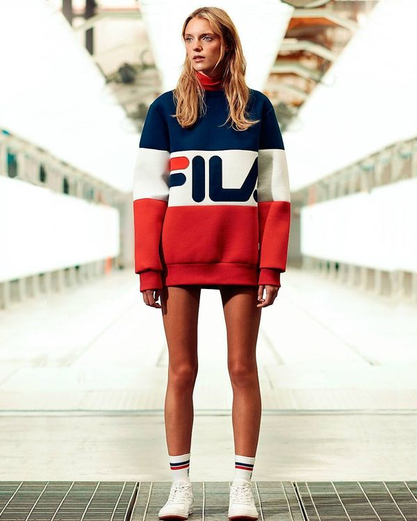 plus size outfit from Fila