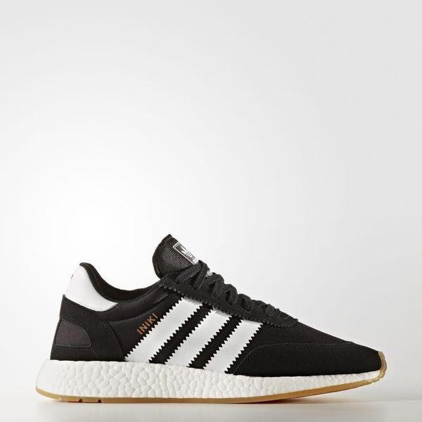 Adidas Iniki Runner Boost Black White