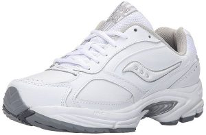 Saucony Grid Omni Walker Walking Shoes for Flat Feet