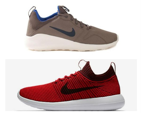Breathability Nike Kaishi 2 and Rooshe 2