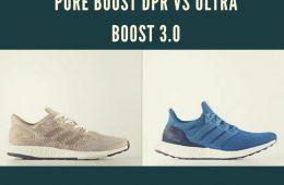 Pure Boost DPR vs Ultra Boost 3.0