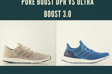 Pure Boost DPR vs Ultra Boost 3.0
