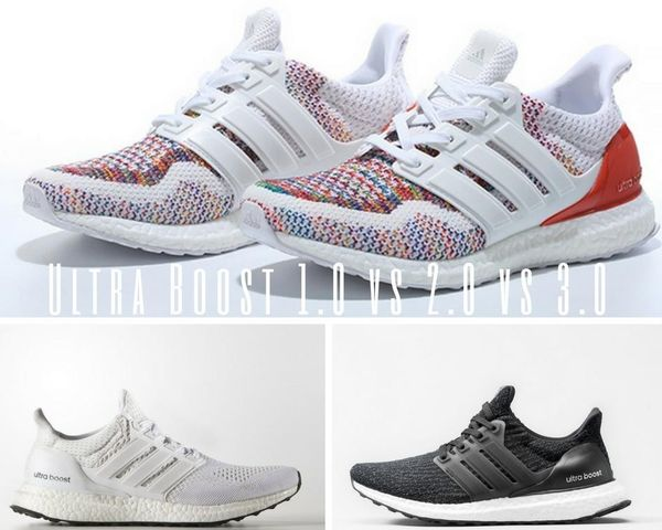 new york more photos aliexpress Ultra Boost 1.0 vs 2.0 vs 3.0 - Reviewed and Tested in ...