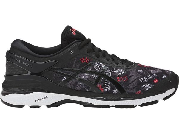 Asics Gel Kayano 24 Black and White – NYC Marathon Edition