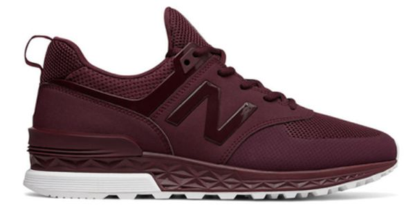 burgundy color new balance