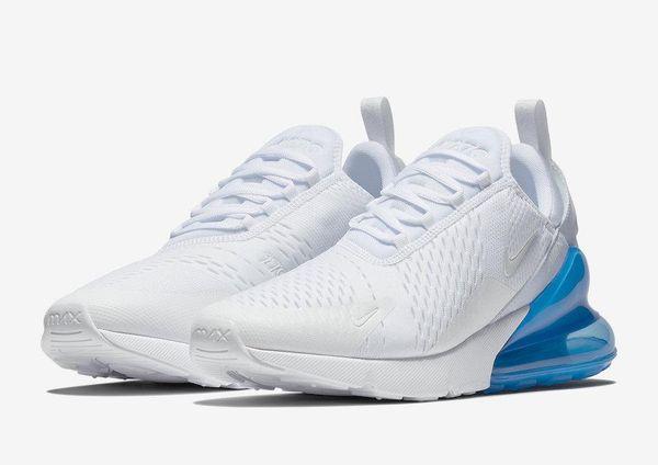 air max 270 womens white and blue