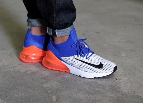 NIKE AIR MAX 270 FLYKNIT on feet