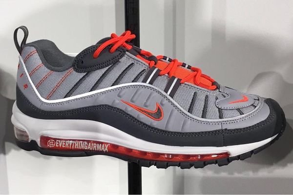 Nike Air Max 98 Grey Crimson