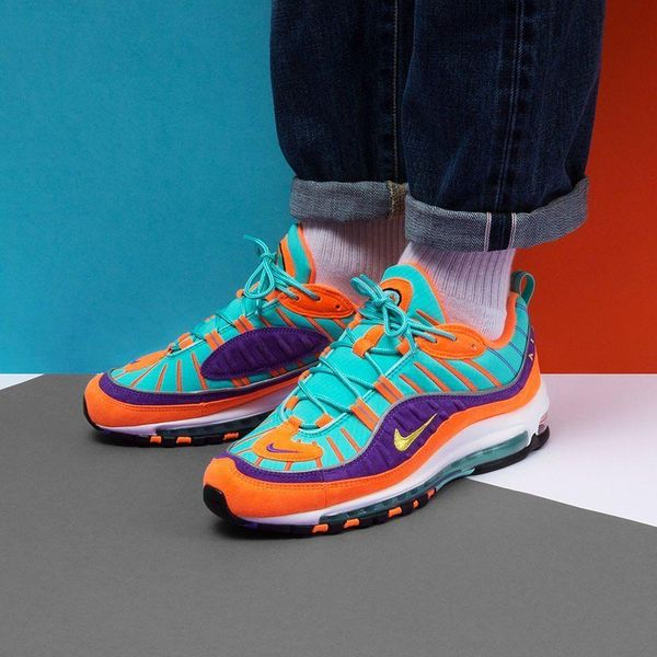 Nike Air Max 98 Cone on foot