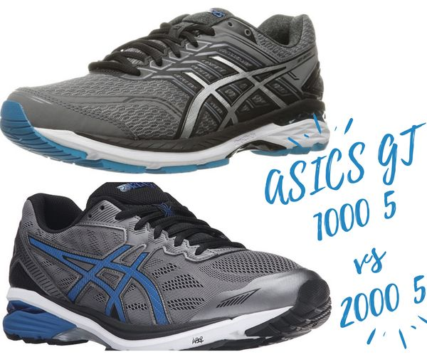 ASICS GT 1000 5 vs 2000 5 Reviewed and Tested in August 2019