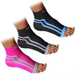 NAK Fitness Plantar Fasciitis Sock Ankle Sleeve