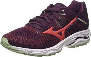 Mizuno Women's Running Shoes, Red Mauvewne Cayenne Bokchoy