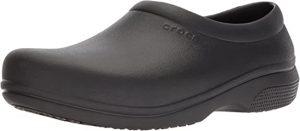 Crocs Women's On The Clock Work Slip Resistant Work Shoe