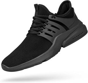 Feetmat Men's Non-Slip Gym Sneakers Lightweight Breathable Athletic Running Walking Tennis Shoes