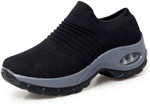 Netursho Slip-On Breathable Mesh Hiking Shoes