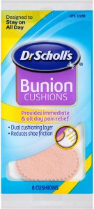 Dr. Scholl's Bunion Cushions, 6 ct