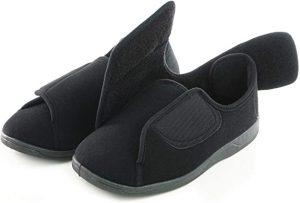 vaEUROPEAN SOFTEST 80-D Memory Foam Diabetic Slipper House Shoes