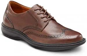 Dr Comfort Mens Wing Dress Shoes