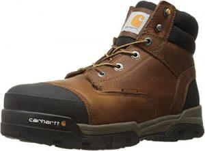 """Carhartt Men's 6"""" Energy Black Waterproof Composite Toe CME6351 Industrial Boot"""