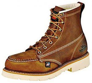"Thorogood Men's American Heritage 6"" Moc Toe, MAXWear 90 Safety Toe Boot"
