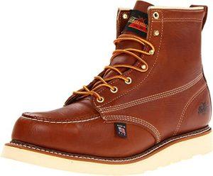 "Thorogood Men's American Heritage 6"" Moc Toe, MAXwear Wedge Safety Boot"