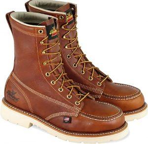 "Thorogood Men's American Heritage 8"" Moc Toe, MAXWear 90 Safety Toe Boot"